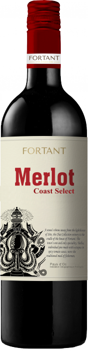 Coast Select Merlot bottle