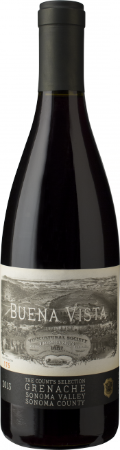 Count's Selection Grenache bottle