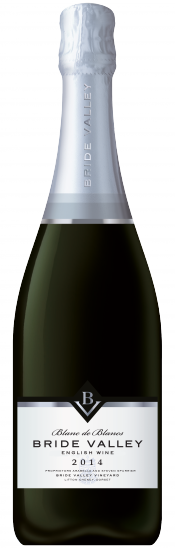 Bride Valley, Blanc de Blancs bottle