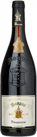 "Vacqueyras ""Silbertus"" bottle"