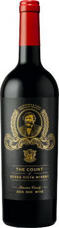 The Count Founder's Red Wine bottle