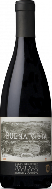 Bela's Selection Pinot Noir, Wine Enthusiast, 2015 logo