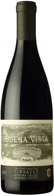 Count's Selection Cinsault bottle