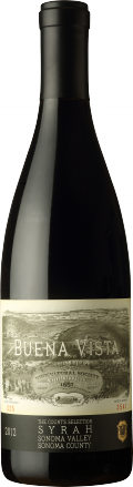 Count's Selection Syrah bottle