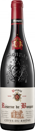 Cotes du Rhone bottle