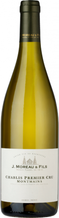 "Chablis Premier Cru ""Montmains"" bottle"