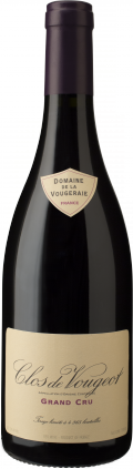 Clos de Vougeot Grand Cru bottle