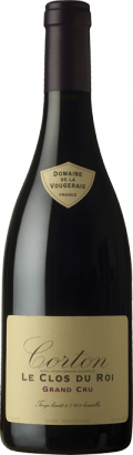 "Corton ""Clos du Roi"" Grand Cru bottle"