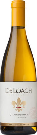 California Chardonnay bottle