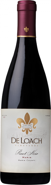 Marin County Pinot Noir bottle