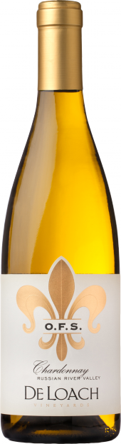 2016 DLV OFS Chard, Sunset Wine Comp, Gold logo
