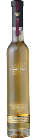 Eloquence Late Harvest Chardonnay bottle