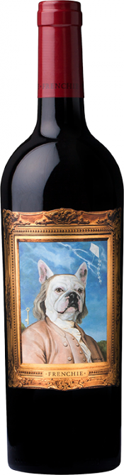 Frenchie Benjamin Franklin Red Wine bottle