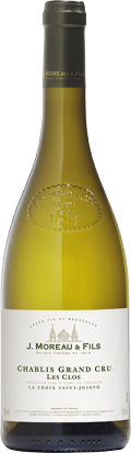 "Chablis Grand Cru ""Les Clos"" bottle"