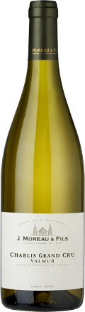 "Chablis Grand Cru ""Valmur"" bottle"