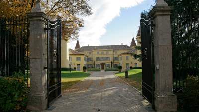 Entrance to the Chateau