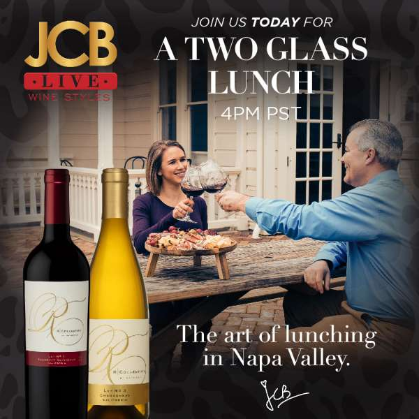JCB LIVE Wine Styles: A Two Glass Lunch. event at Jean-Claude Boisset