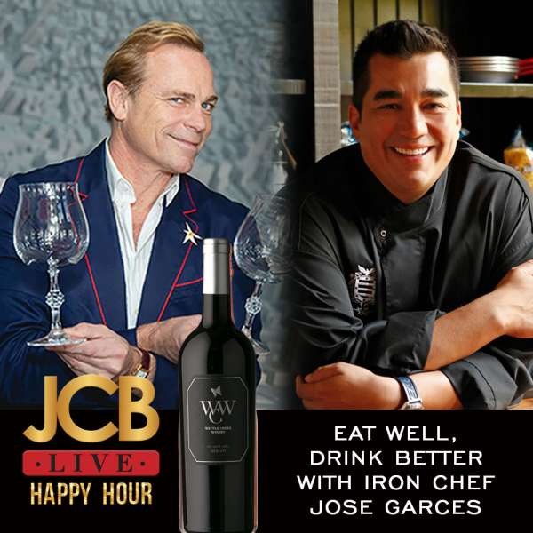 JCB Live Happy Hour: Eat Well, Drink Better with Iron Chef Jose Garces