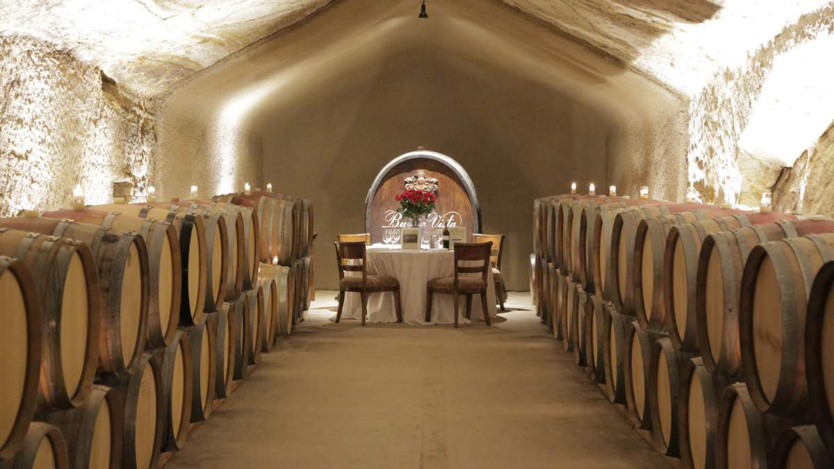 Reserve Cave Tasting experience