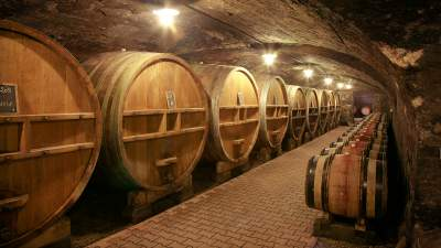 Pierreux Barrel Cellar