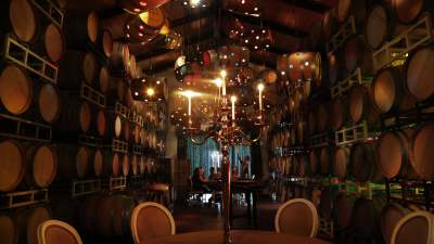 Deloach Vineyards Barrel Room