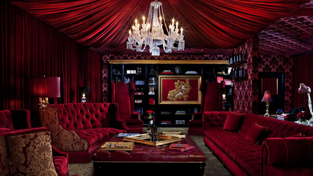 Red Room Private Lounge Raymond Vineyards Experiences