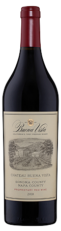 Chateau Buena Vista Proprietary Red Wine bottle