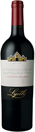 Lyeth California Red Wine bottle