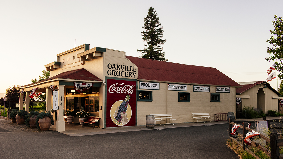 Oakville Grocery Exterior